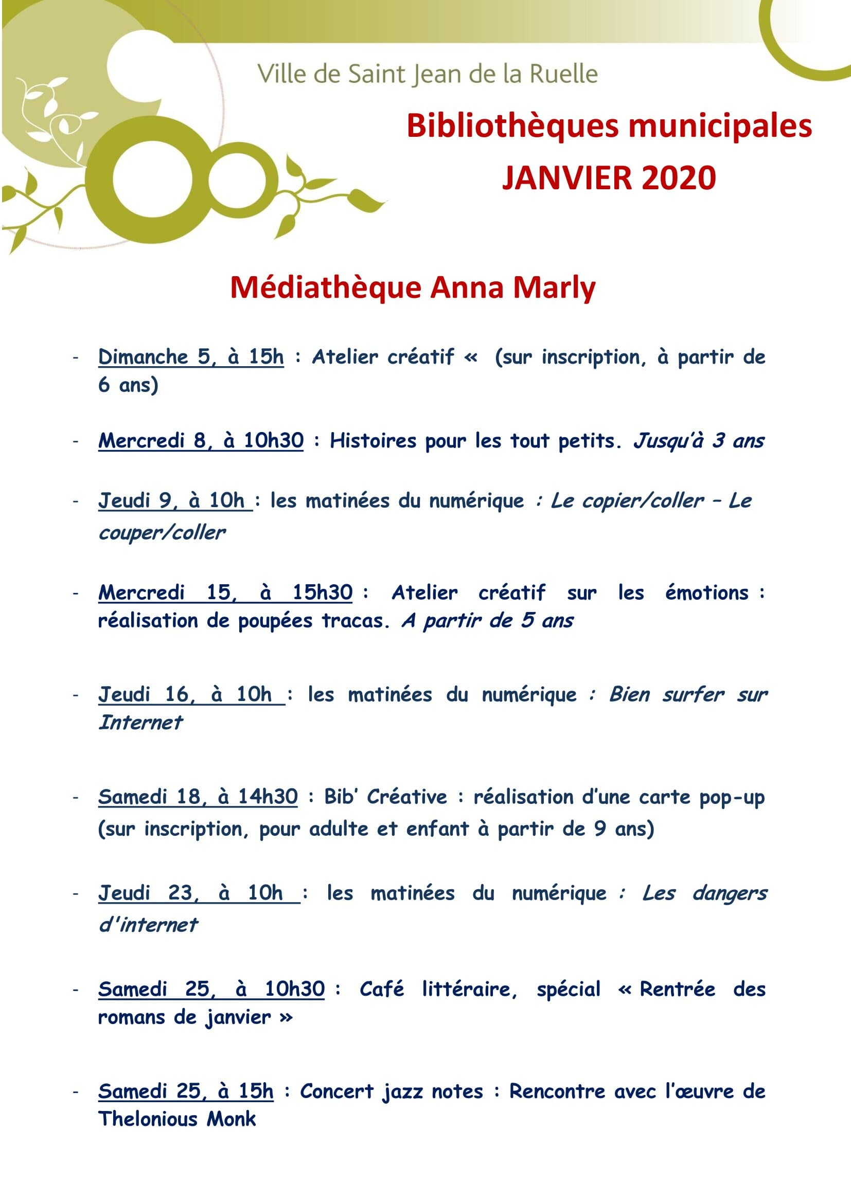 tract janvier 2020