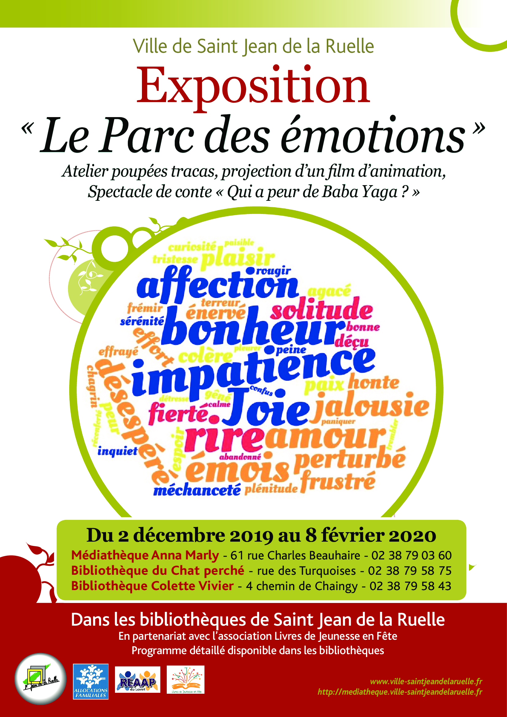 AFFICHE TRACT EXPO EMOTIONS